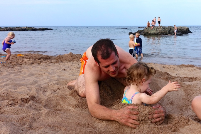 Getting Sandy Rocks at McCarty's Cove 4