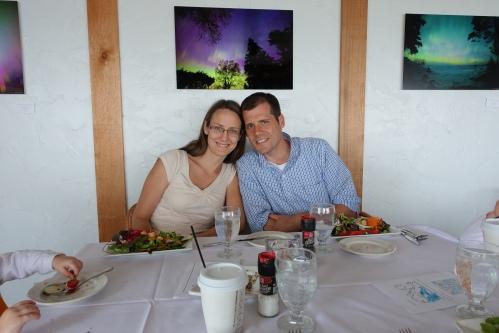 Jon and Linda at the Harbor Haur