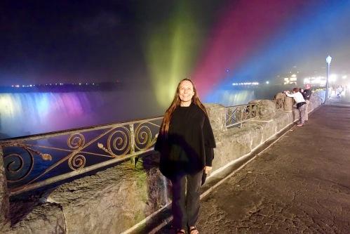 Kathi at Niagara Falls