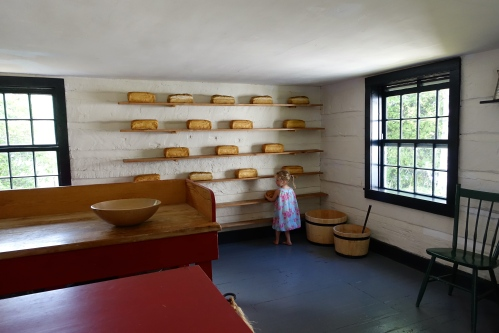 Loaves of Bread in the bakery at at Fort Wilkins