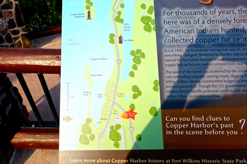 Map of Copper Harbor