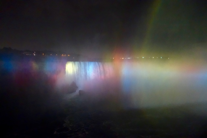 Misty Rainbows at Niagara Falls
