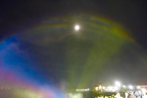 Moonbows at Niagara Falls