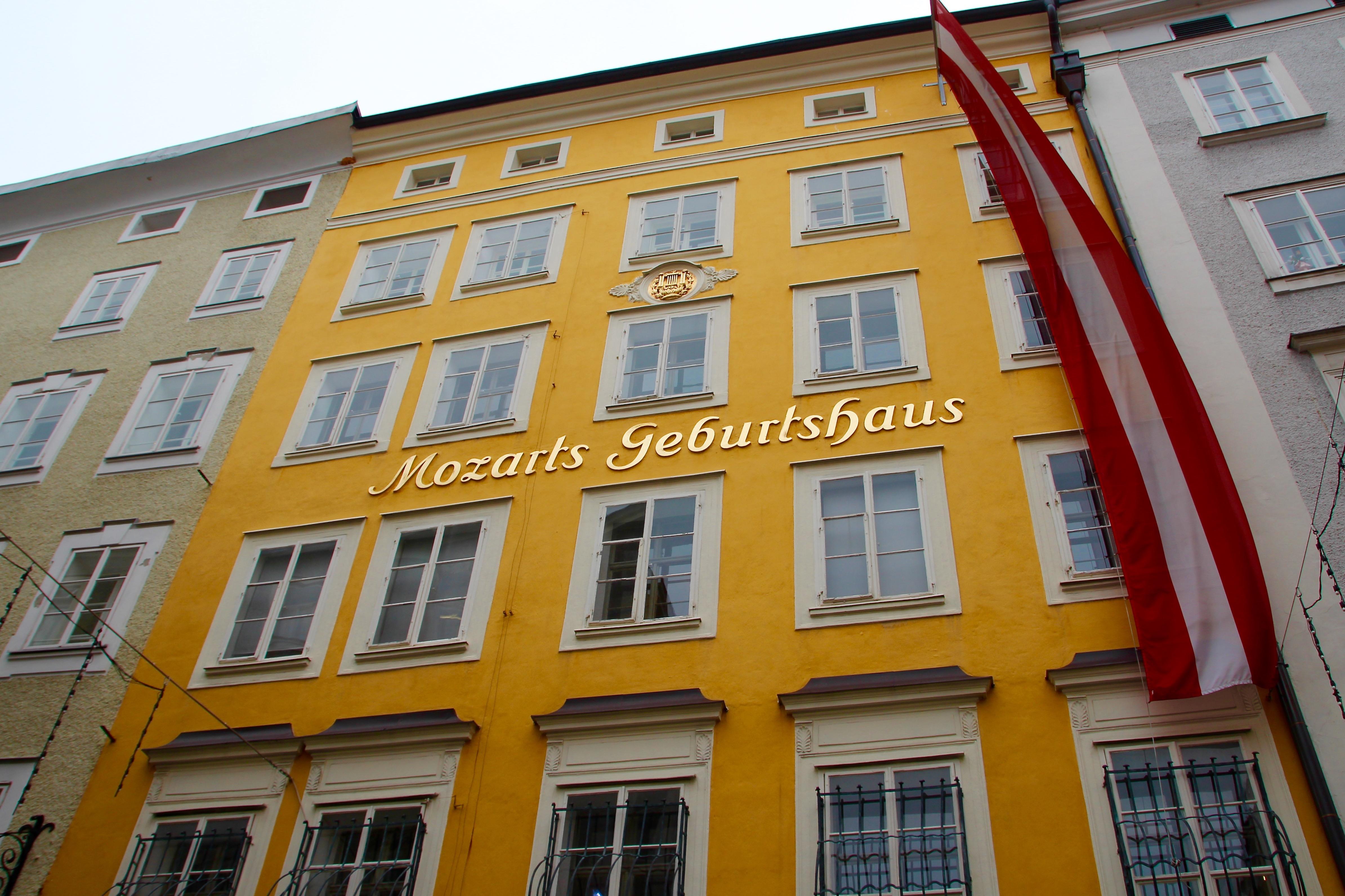 Mozart's Home. Salzburg