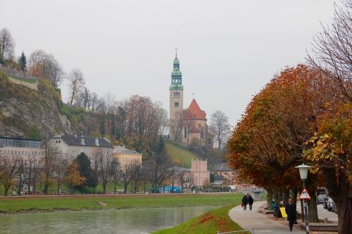Mullner Kirche. Salzburg