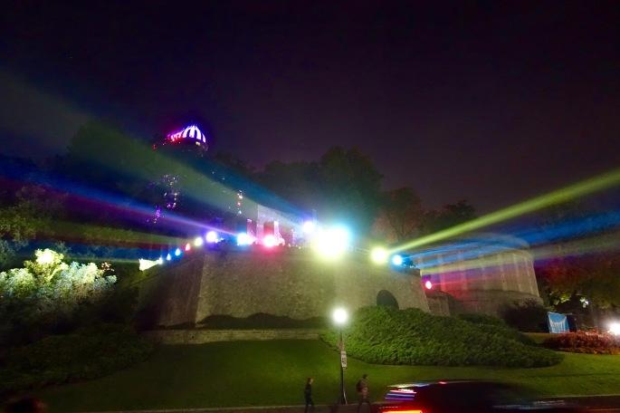 Night Lights at Niagara Falls