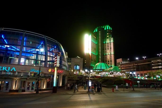 Night Scenes at Niagara Falls 5