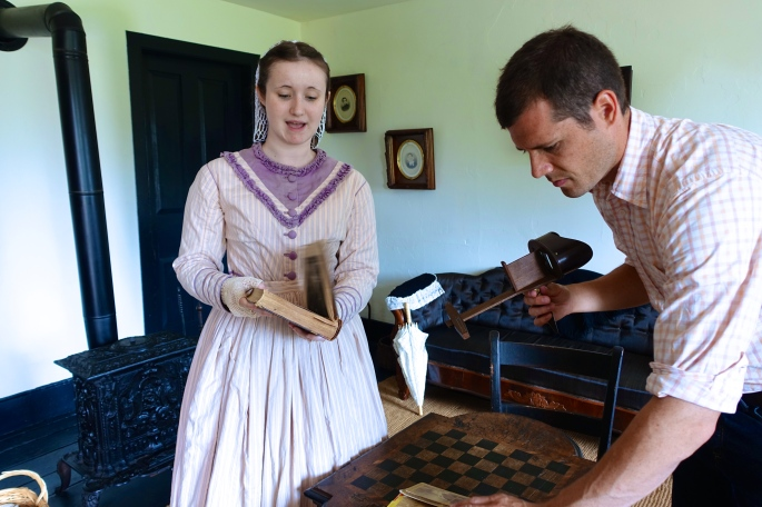 Period Costumes at Fort Wilkins