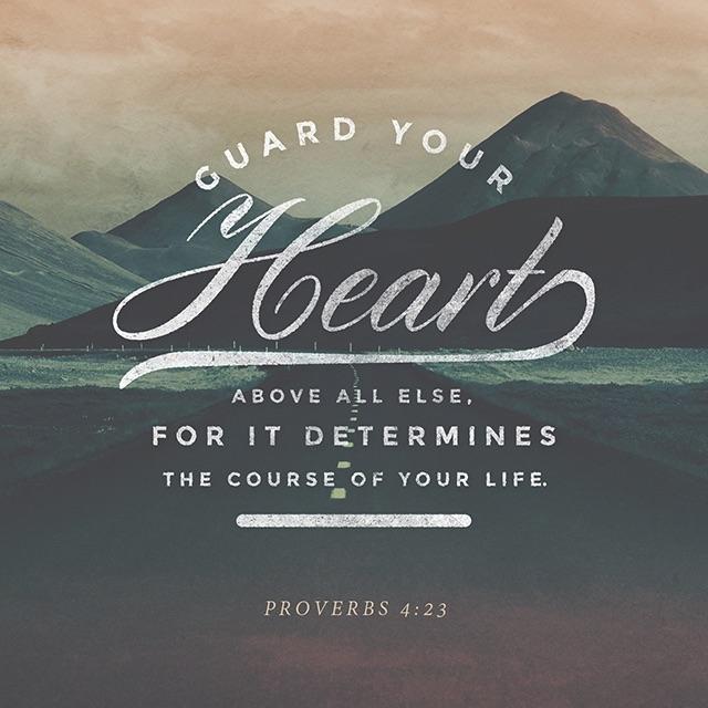 Proverbs 4.23