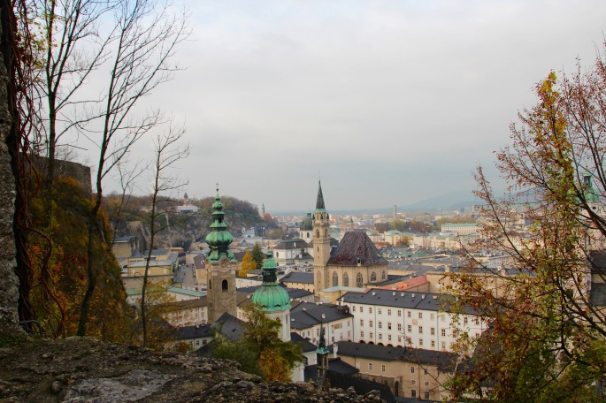 Salzburg from the Fortress