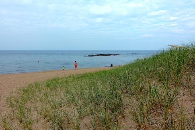 Sandy beach at McCarty's Cove