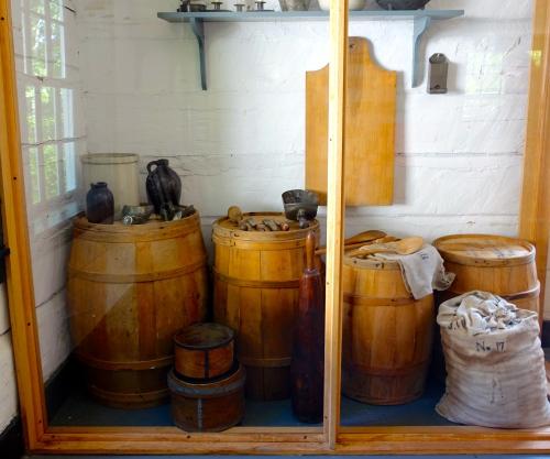 Storage Room at Fort Wilkins