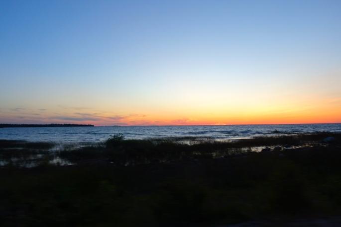 Sunrise in the U.P.