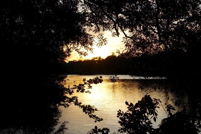 Sunset on the Avon River