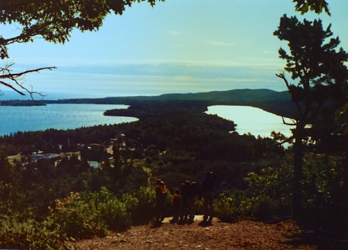 View of Copper Harbor 1986