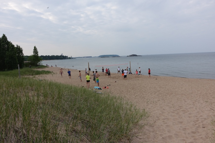 Volleyball at McCarty's Cove