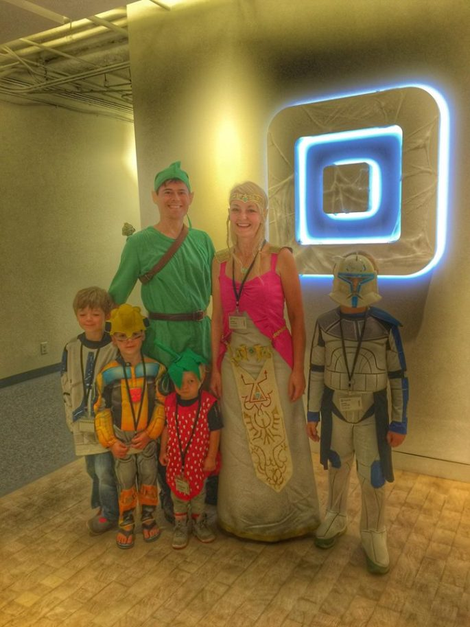 Aaron's family