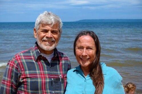 Alan and Kathi at Brimley State Park
