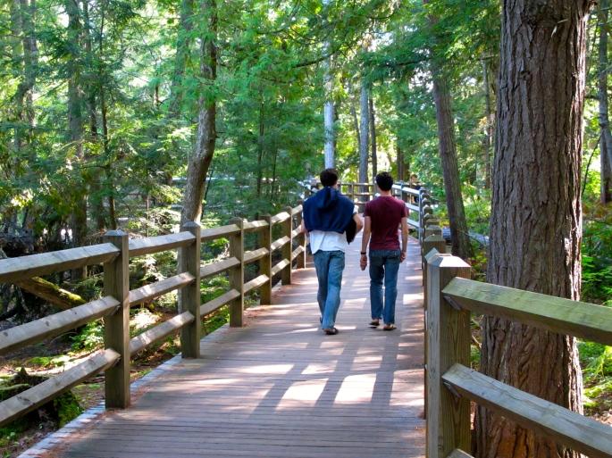 Boardwalk at Lower Tahquamenon Falls