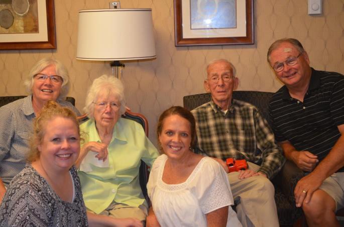 B's family