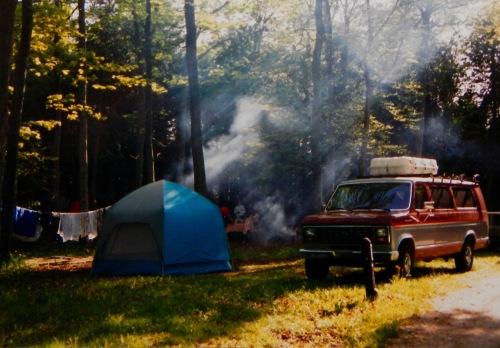 Camping in the U.P.