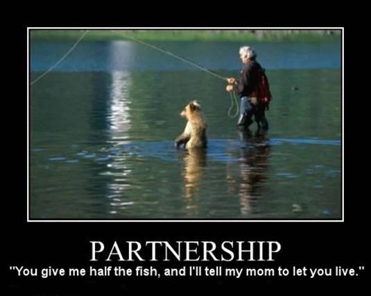 Fisherman and Bear