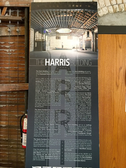 Harris Building Poster