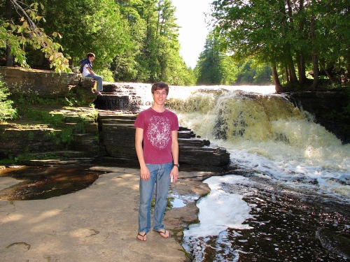 I think there are literally hundreds of water falls in the U.P.