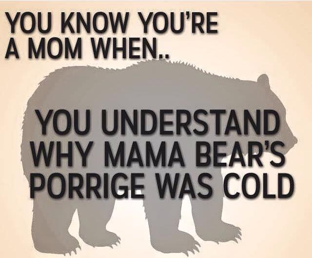 Mama Bear's Cold Porridge