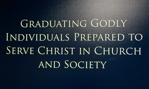 Motto at Grace Bible College, GR
