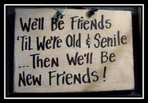 Old Friends. New Friends