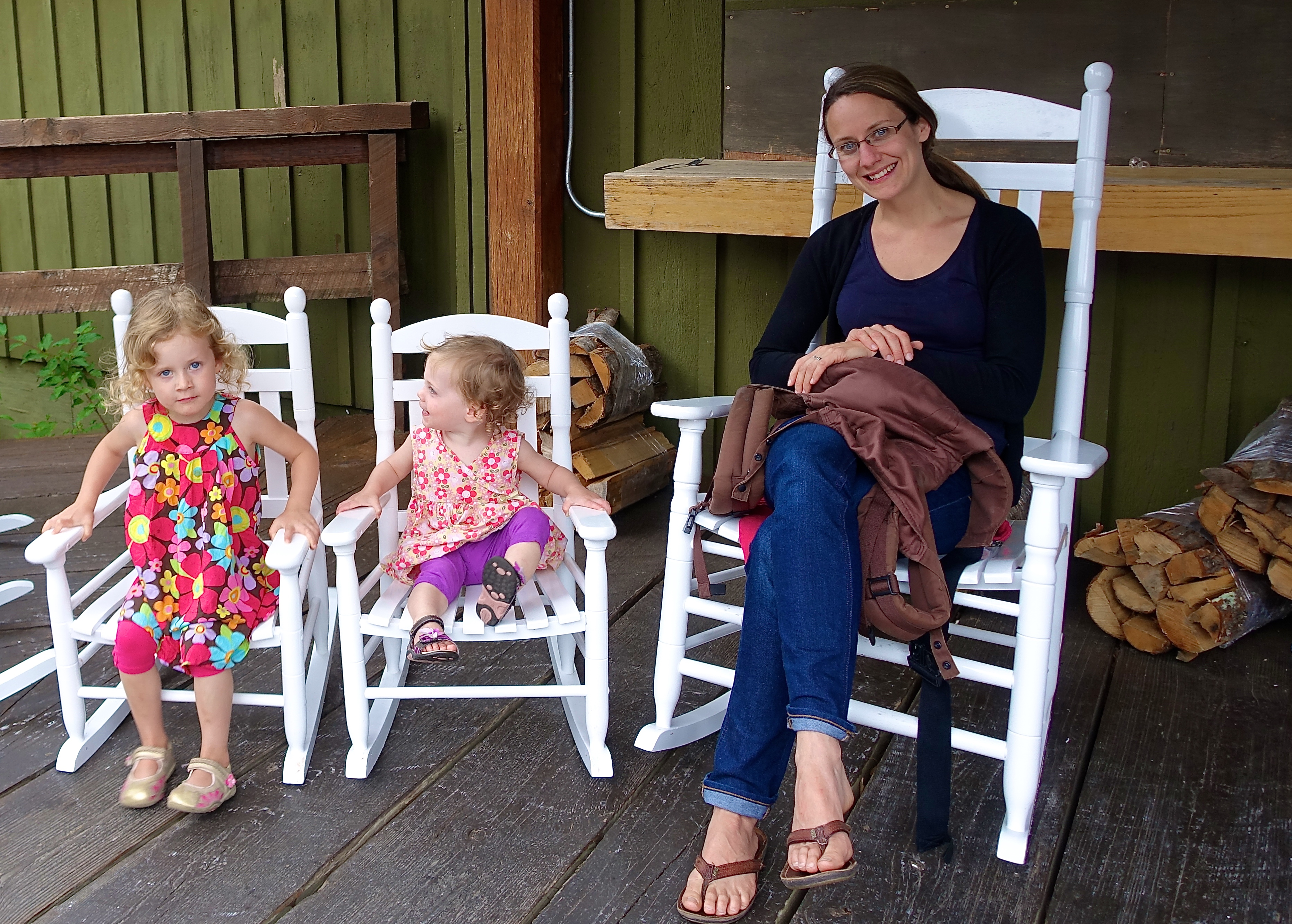 Rocking Chairs at Tahquamenon Falls