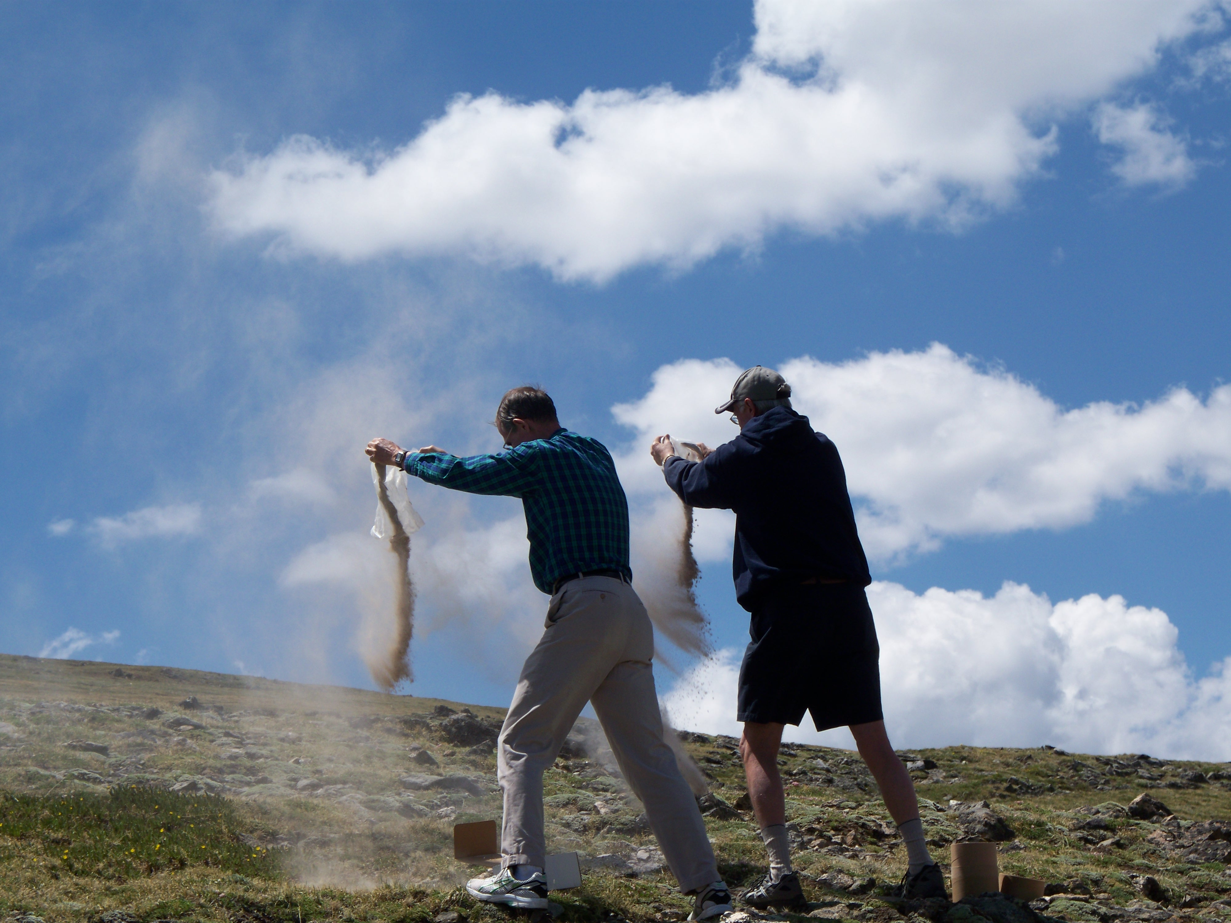 Scattering Ashes in the Rocky Mountains