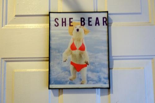 She Bear Ladies' Room