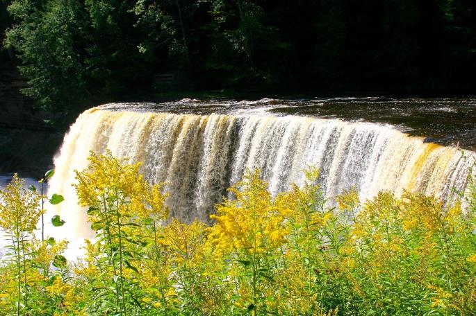 Upper Falls Tahquamenon River 2
