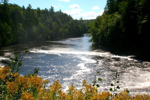 Upper Falls Tahquamenon River 3