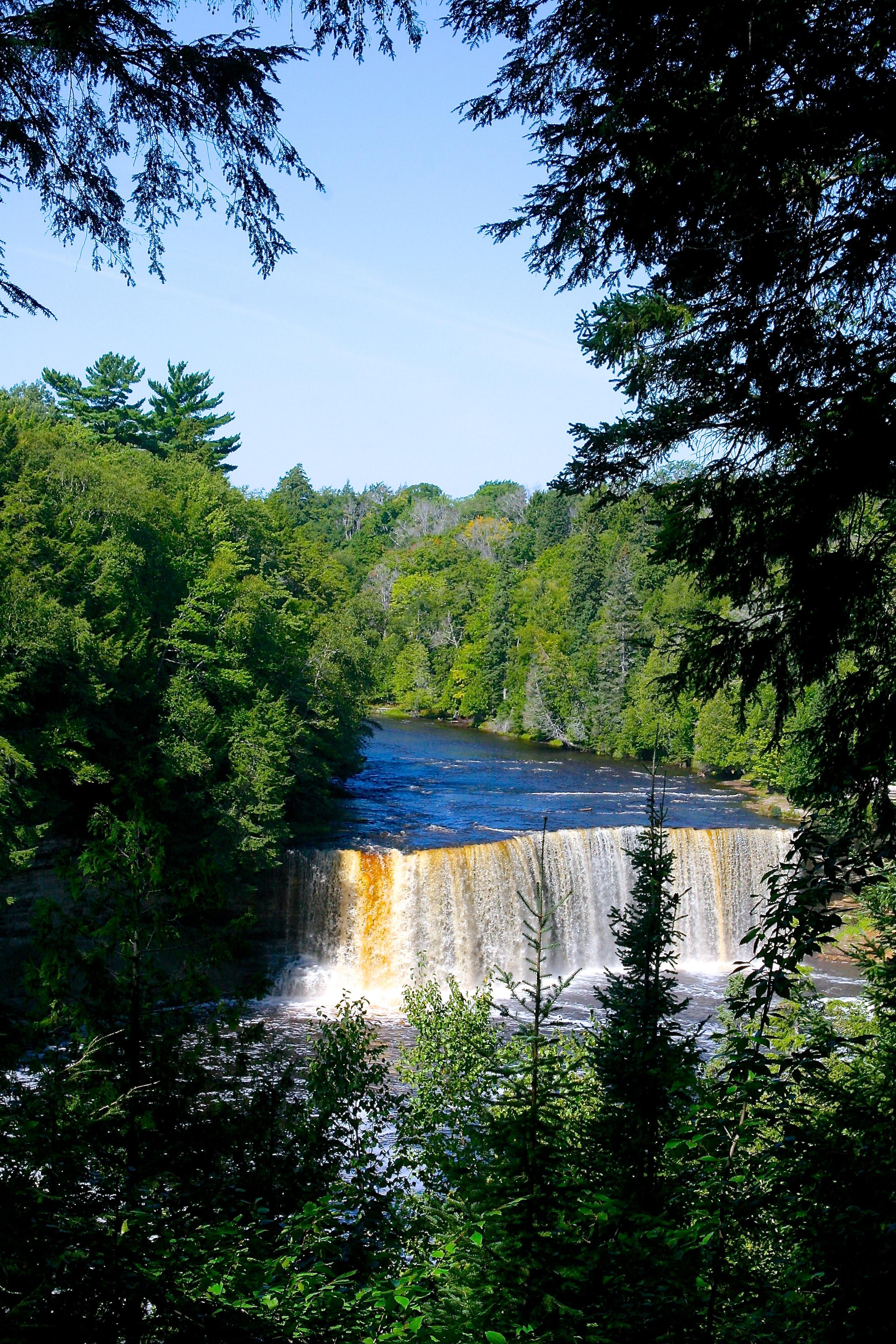 Upper Falls Tahquamenon River
