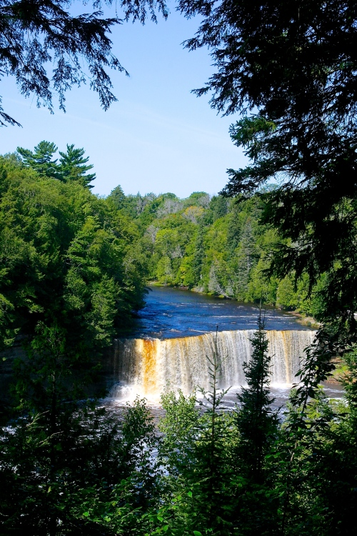 Upper Falls Tahquamenon River