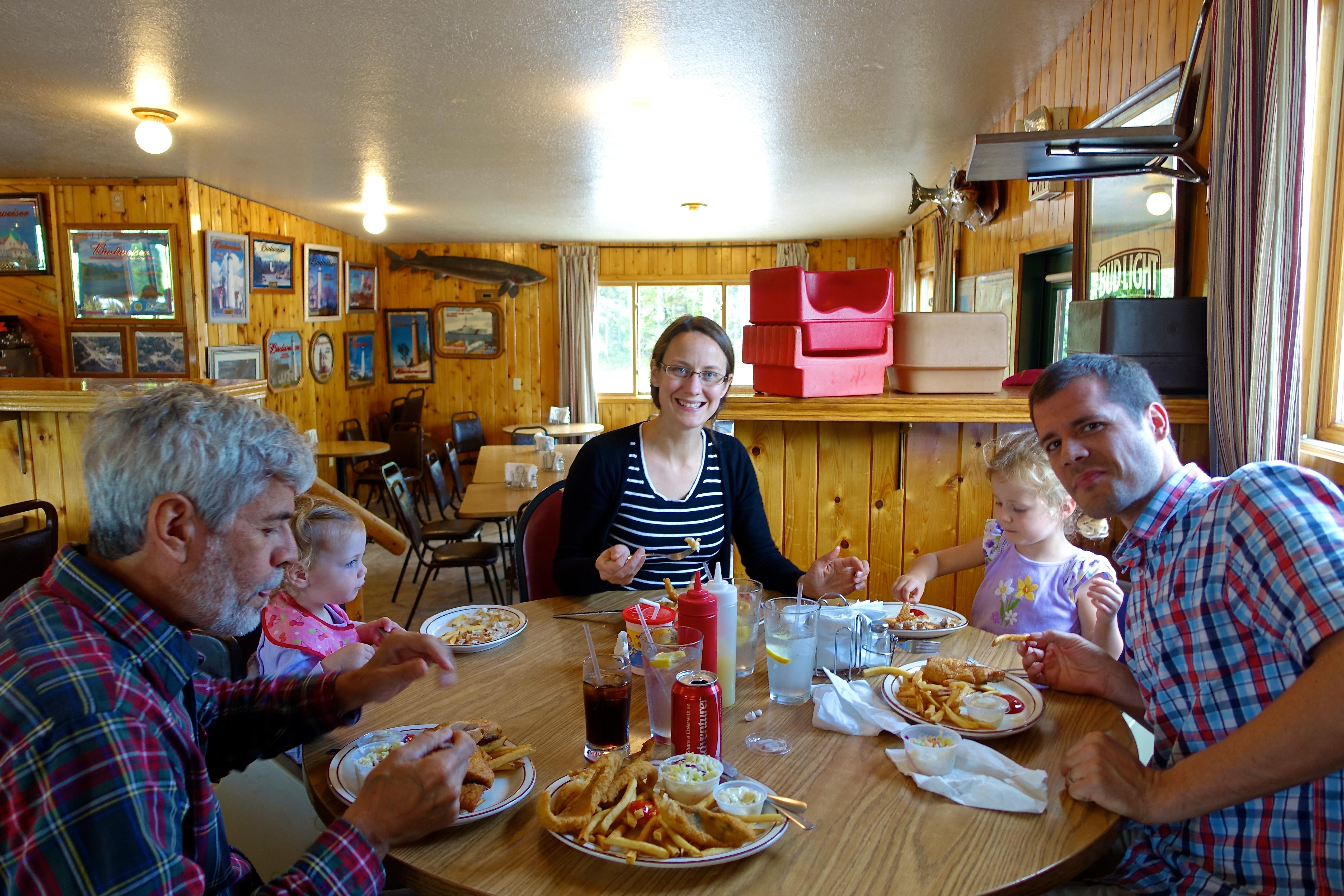 Whitefish Basket at Cozy Inn, Michigan