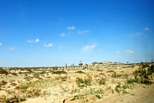 Aqueduct in Tunisia