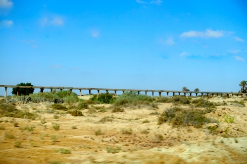 Aqueduct Project in Tunisia