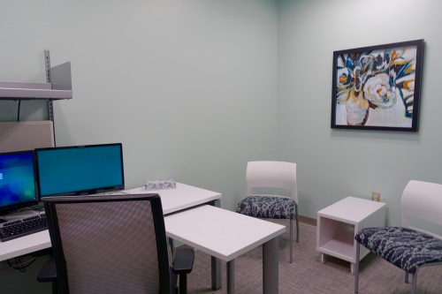 Counseling Room at Loeks Residency Center