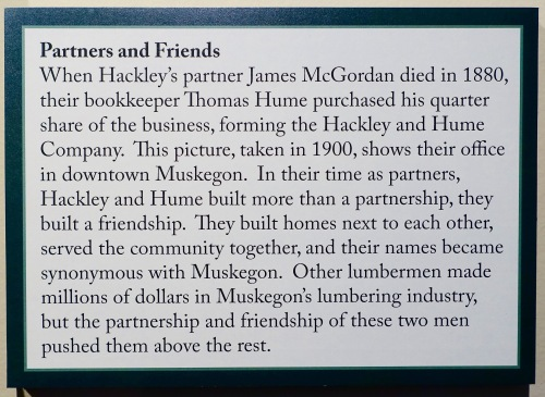 Friendship of Hackley-Hume