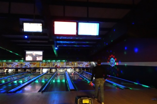 Fun at AMF Bowling Alley