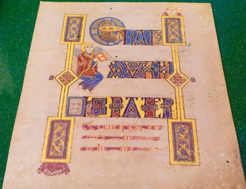 Hackley Library Book of Kells 2