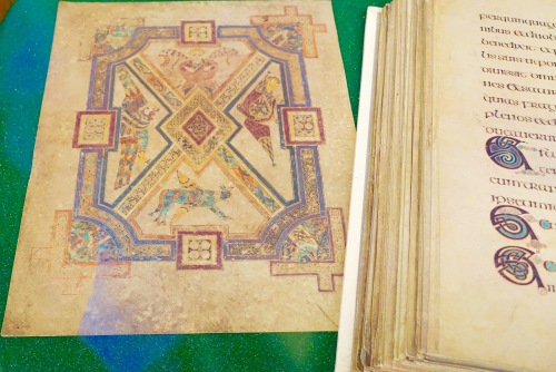 Hackley Library Book of Kells 3