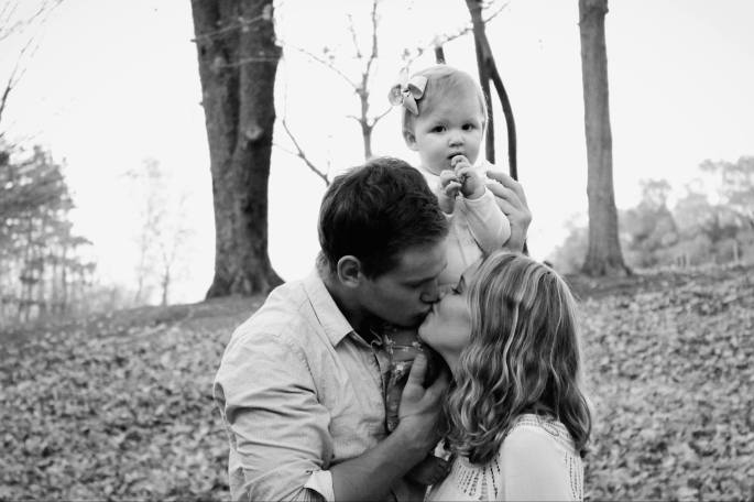 Kissing and Baby