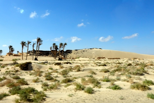 Nearing Tunisian Saraha Desert