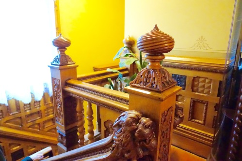 Staircase at Hackley House