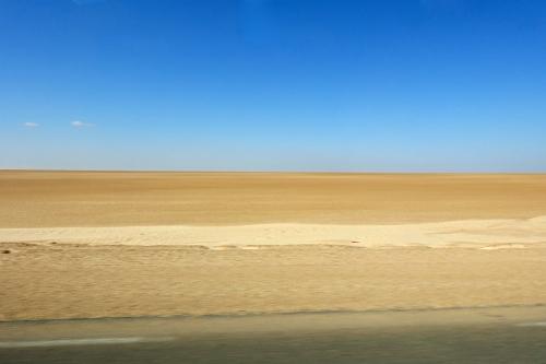 Tunisia Desert Plain